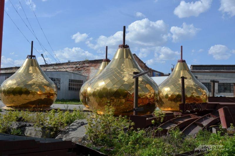 Купола для Сретенского храма.