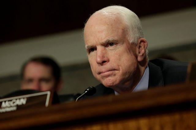 Маккейн хотел бы стать президентом США, но «жизнь несправедлива»