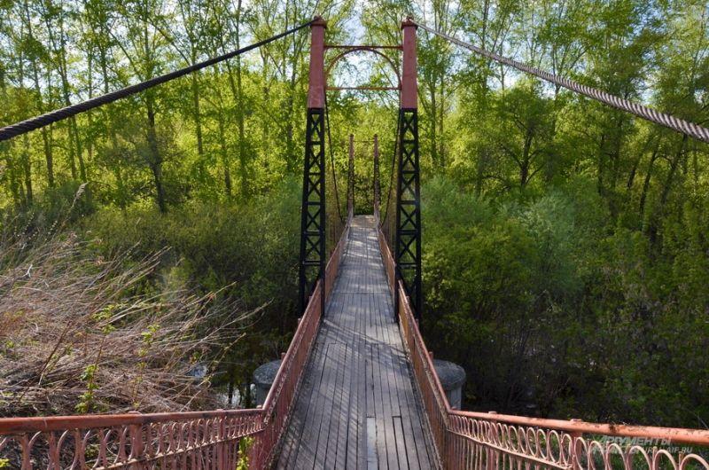 Мост через реку Ницу.