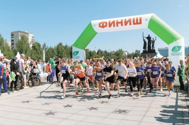 ВИркутске «Зеленый марафон» Сбербанка пройдет у замка спорта «Труд»