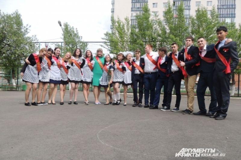 В красноярской школе № 12 выпускается всего один класс.