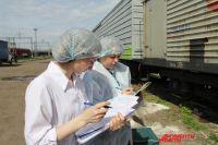 Ветеренарный контроль выявил, что при транспортировки груза не соблюдался ветеринарный контроль.