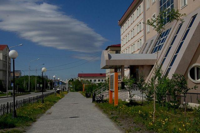 Салехардская окружная больница.