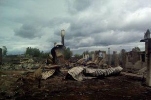 В результате сгорели более 130 домов, более 500 человек остались без крова.
