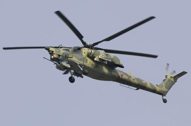 В России начались испытания ударного вертолета Ми-28НМ
