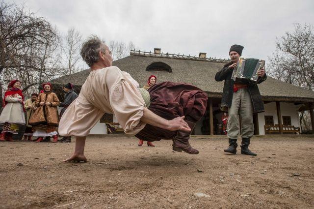 Украина признала гопак национальным видом спорта
