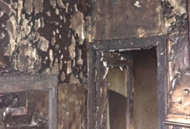 Впожаре вТуле наулице Бондаренко мужчина получил ожоги
