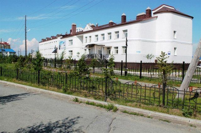 Обдорская гимназия в Салехарде.