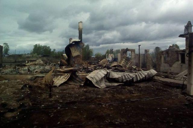 СКвозбудил дело после смерти 2 человек впожаре вКрасноярском крае