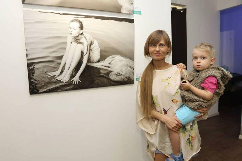 Katya Chilly с сыном