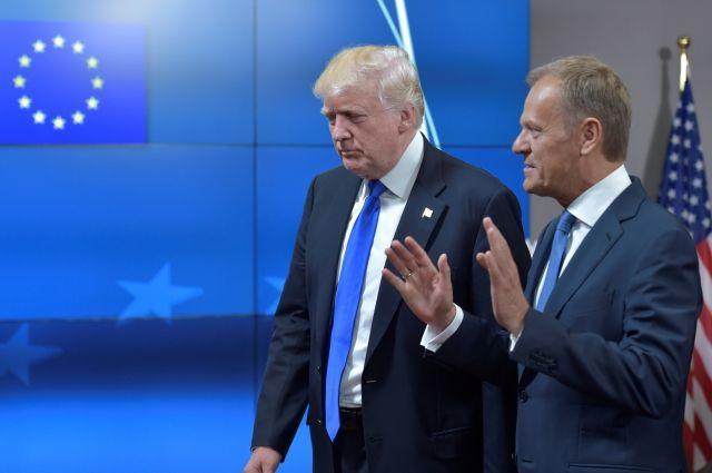 Трамп и Туск хотят создать рабочую группу по вопросам глобальной торговли