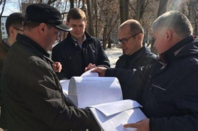 Врио главы УР Александр Бречалов побывал на бульваре Гоголя в первые дни своего пребывания в республике.