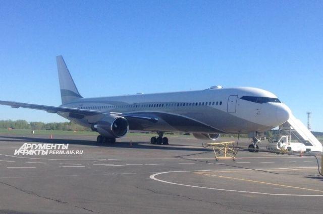 Самолёт Романа Абрамовича прибыл в Пермь днём 25 мая.