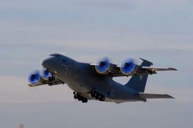 «Антонов» показал полет АН-70 нового поколения