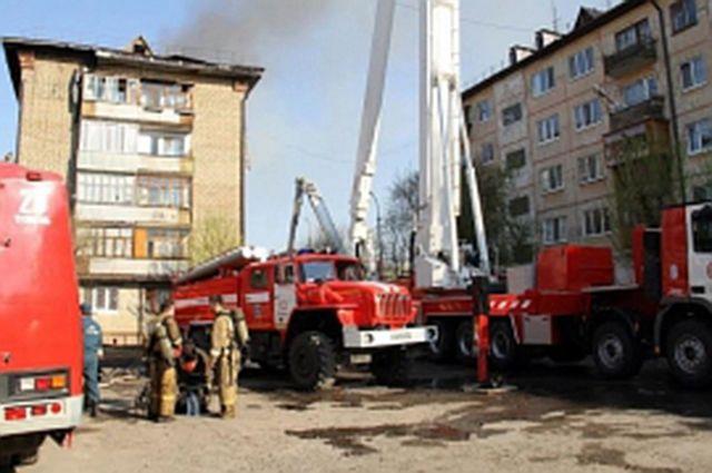 На улице Газовиков в Тюмени произошел пожар