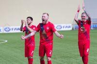 В этом сезоне футболисты «Енисея» впервые выиграли медали первенства ФНЛ.