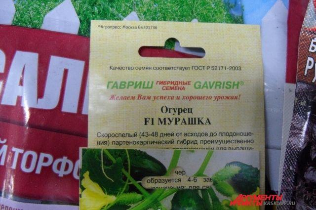 При покупке семян нужно внимательно изучать упаковку.