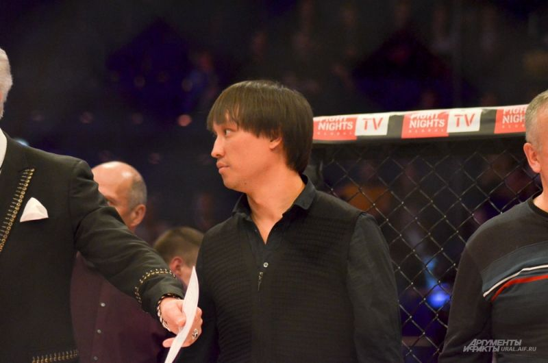 Продюсер турниров Fight Nights Сангаджи Тарбаев.