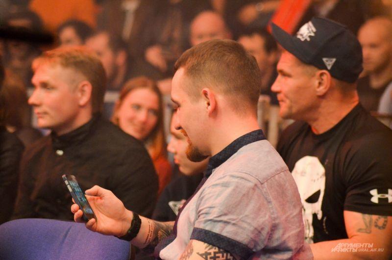Директор екатеринбургской промоутерской компании Titov Boxing Promotion Алексей Титов.