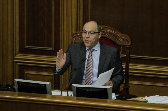 Парубий подписал закон о введении квоты в 75% для украинского языка на ТВ