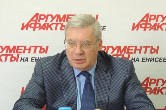 Виктор Толоконский в гостях у «АиФ-Красноярск».