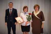 В центре победительница Мария Киелевяйнен