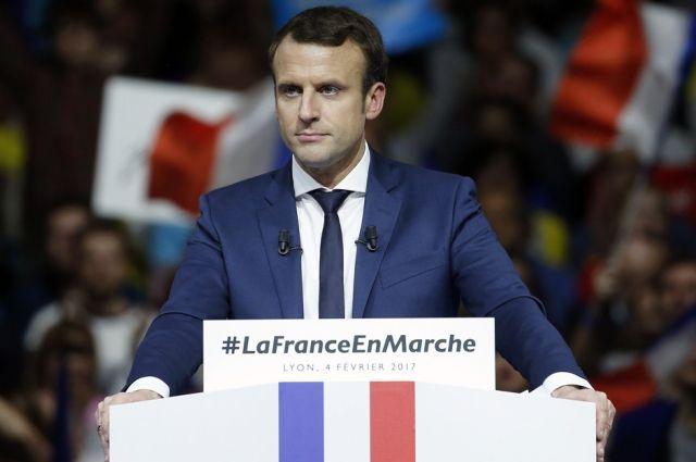 Макрон планирует отстаивать интересы Франции вовремя встречи сПутиным