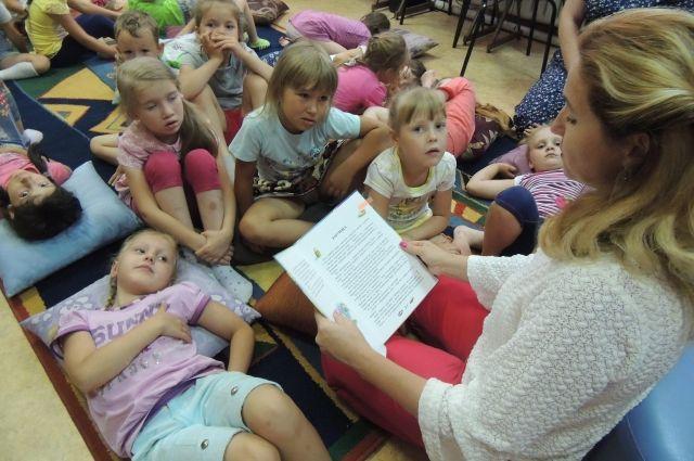 Детям нужно читать книжки с самого рождения.