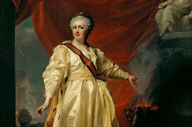 Пять дней императрица гостила в Казани.