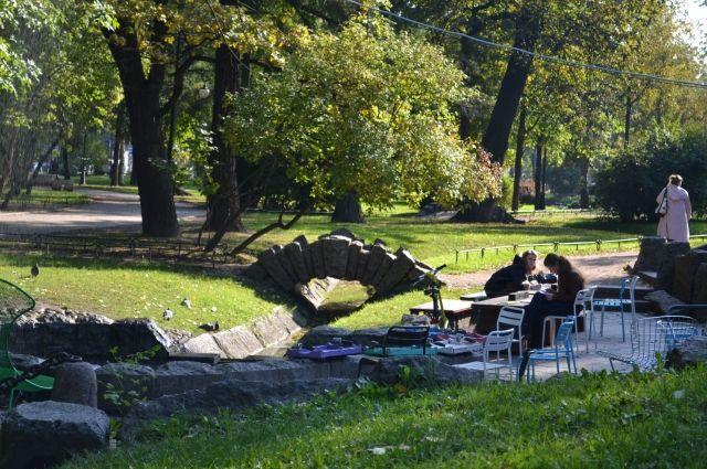 Проект реконструкции Александровского парка выбрали вПетербурге