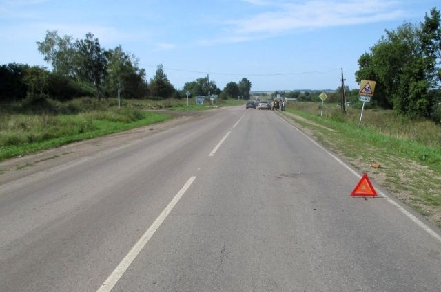 На трассе «Тюмень - Омск» автомобиль сбил пешехода