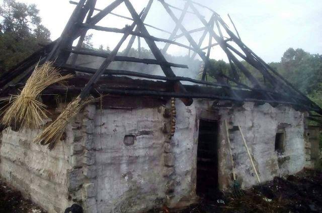 ГСЧС: ВКиеве горел Национальный музей народной архитектуры ибыта