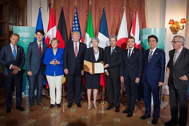 Лидеры государств G7 решили удвоить усилия по борьбе с терроризмом