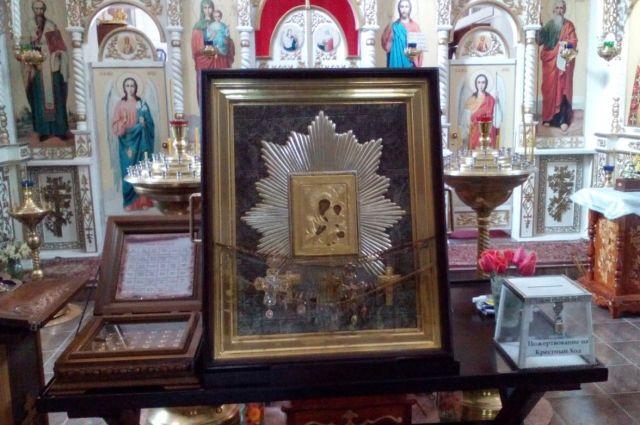 В Прикамье икона Божией Матери «Избавительница от бед», крест-мощевик и ковчег с мощами угодников Божиих будут находиться до 27 июня.