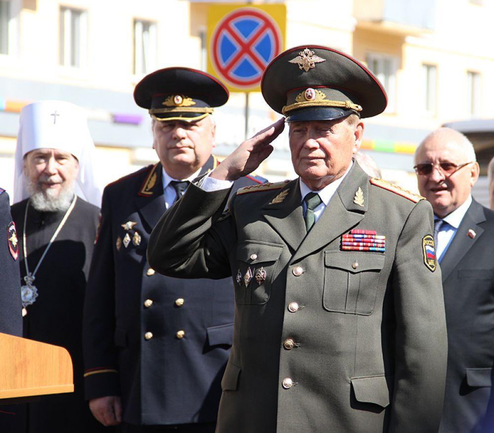 Помощник министра внутренних дел РФ генерал-полковник внутренней службы Иван Шилов