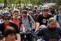 Более опытные велосипедисты отправились по маршруту на 20 километров.