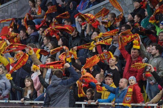 Тульский «Арсенал» одержал победу вматче с«Енисеем»