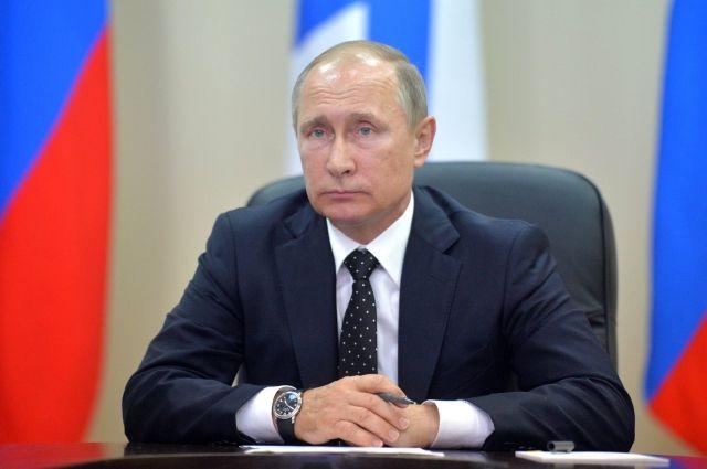 Путин поздравил пограничников России с профессиональным праздником