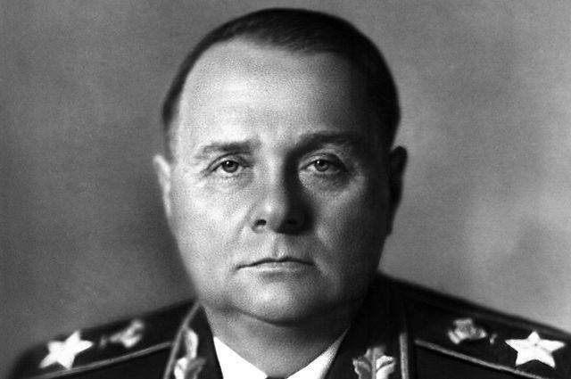 Кирилл Мерецков. 1957 год.