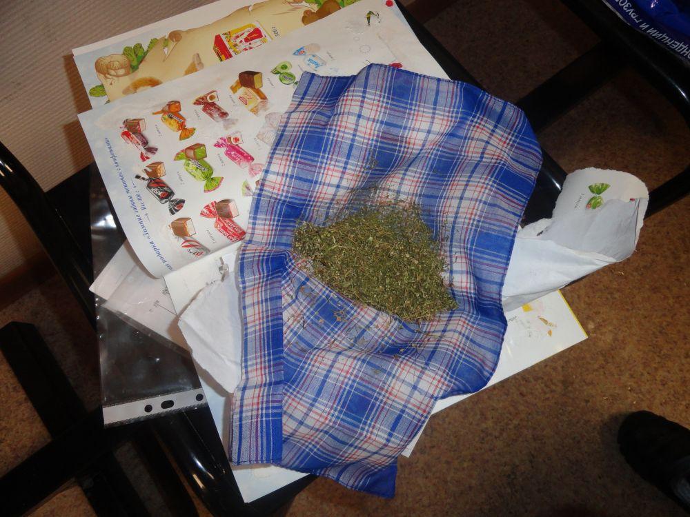 У пассажирки поезда среди лечебных трав нашли марихуану.