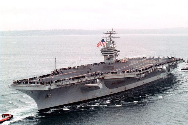 Авианосец Carl Vinson возвратится изЮжной Кореи вСША
