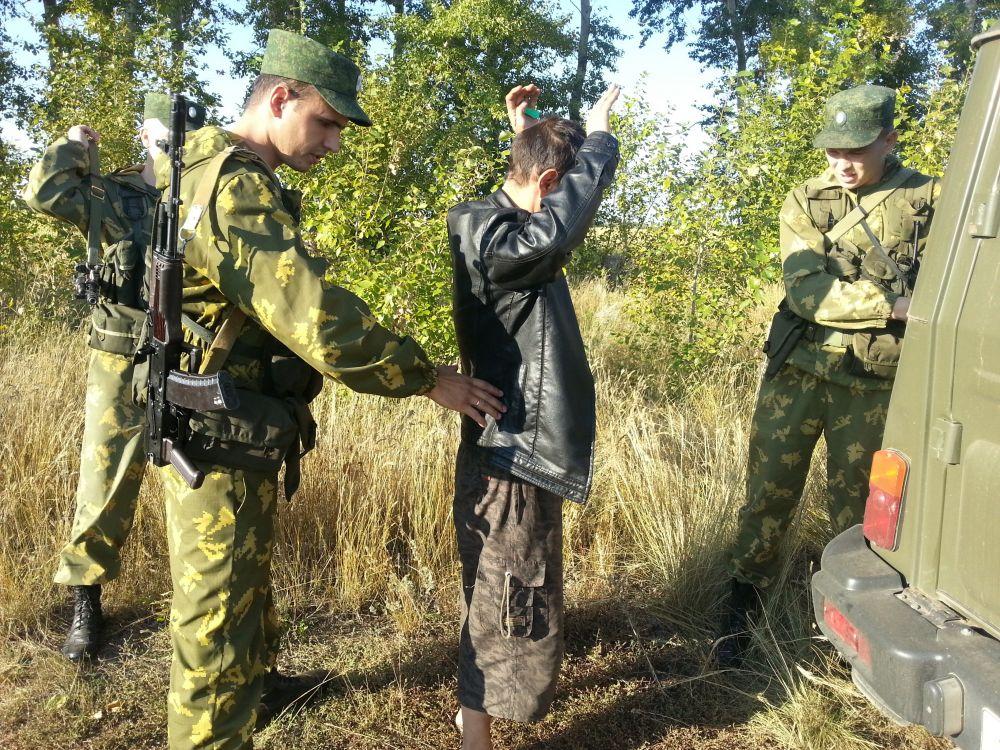 Операция по задержанию гражданина, пытавшегося незаконно пересечь государственную границу