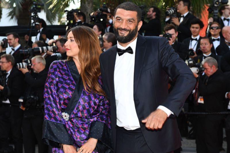 Французский актер Рамзи Бедиа на церемонии закрытия 70-го Каннского международного кинофестиваля.