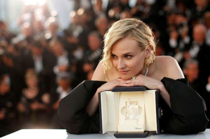 Актриса Дайан Крюгер, лауреат премии «Лучшая актриса» за роль в фильме «На пределе».