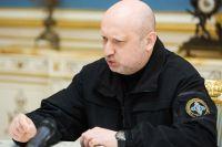 Секретарь Совета национальной безопасности и обороны (СНБО) Украины Александр Турчинов.