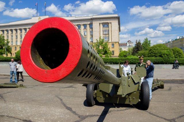 Пензенцы смогли увидеть вооружение и спецтехнику.