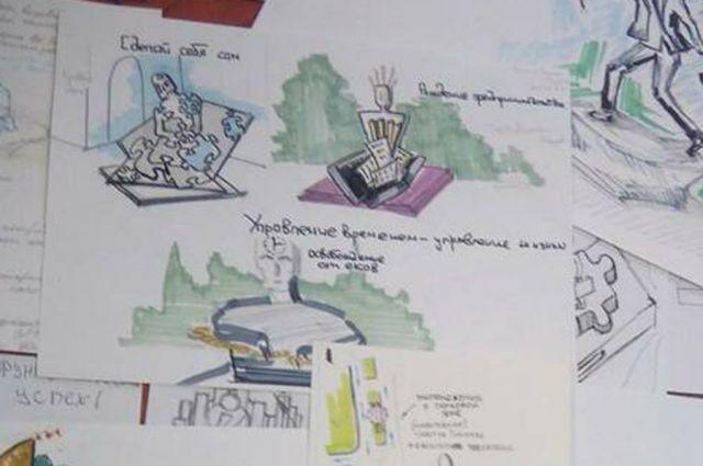 Работа победительницы проекта Варвары Гришиной