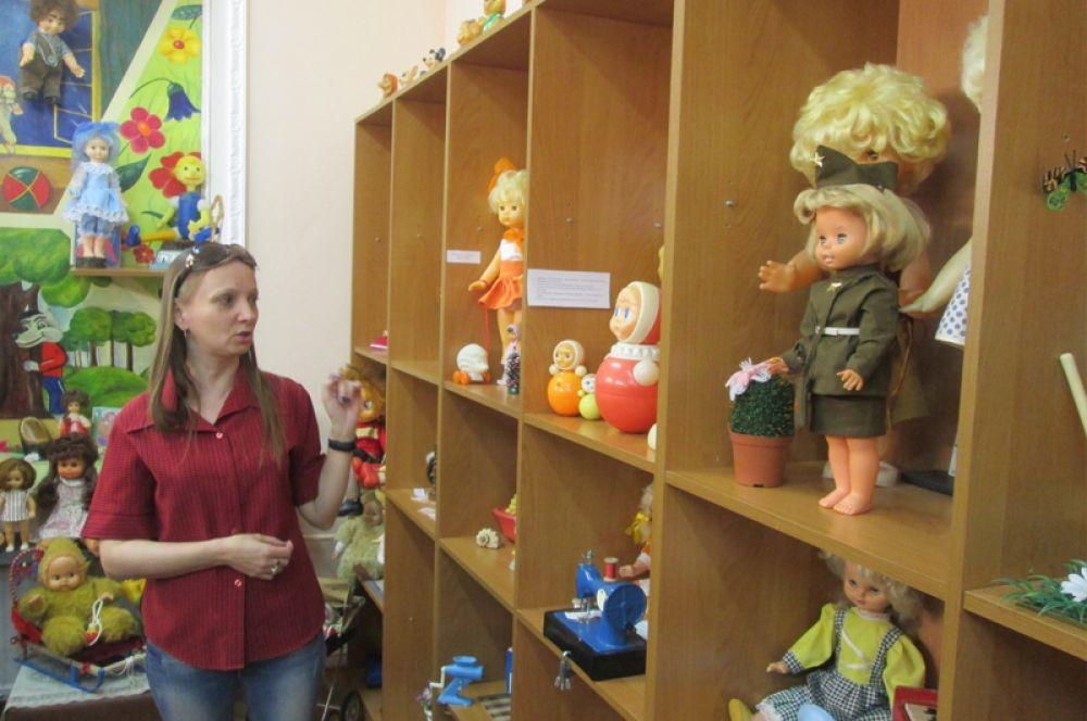 Руководитель музея Оксана Хайлова