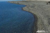 Черноморское побережье в районе Сочи.