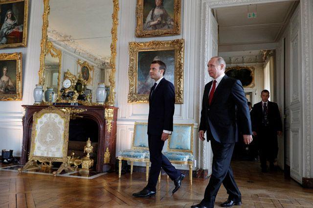 Какую выставку открывает Владимир Путин в Версале?